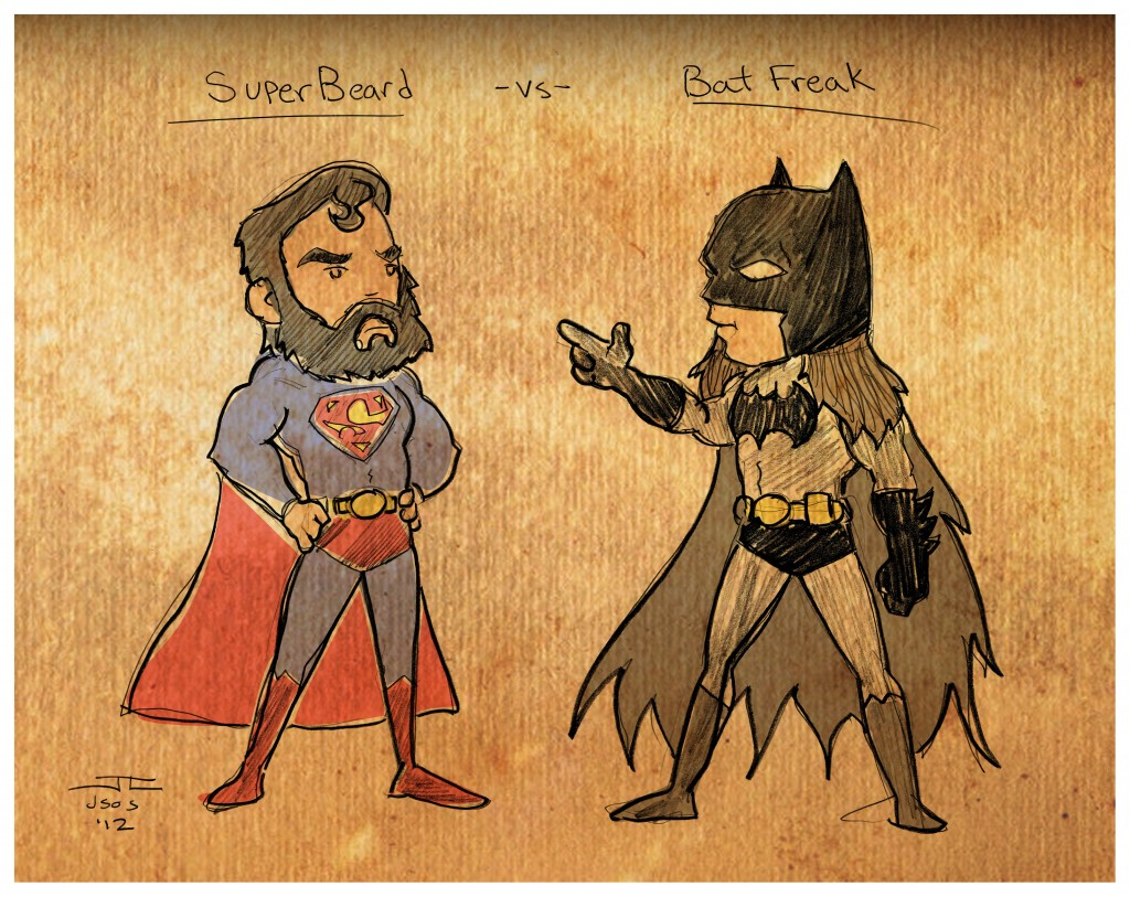 Superbeard vs Batfreak